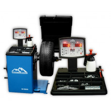 Балансировочный станок с вынос. дисплеем, автомат. ввод 2-х параметров колеса, вес колеса до 70 кг.
