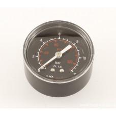 Манометр для измерения давления в шинах 1/8 дюйма, диаметр 40 мм, шкала от 0 до 12 BAR