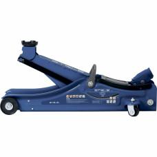 Домкрат гидравлический подкатной в пластиковом кейсе, 2 тонны, Low Profile, 80-380 мм. STELS