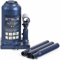Домкрат гидравлический бутылочный телескопический, 4 т, h подъема 170–420 мм STELS