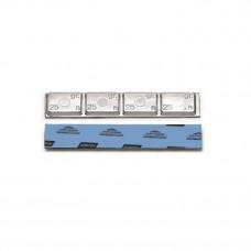 0065  - Грузик штампованный, стандартный, для грузовых авто, с логотипом NORTON/NORBOND.Вес 100 гр. (25 шт)
