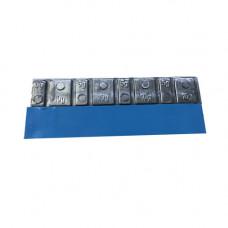 0062 Silver - Набор грузов адгезивных Silver (50шт)