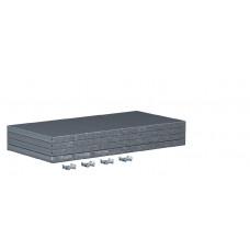 Упаковка полок больших для металлических шкафов серии ТИТАН (4 шт.) Ferrum 08.302