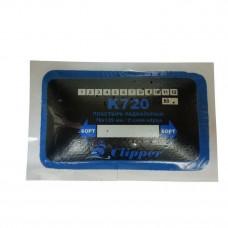 K720  - Набор пластырей кордовых для ремонта радиальных шин 76х125мм./2 слоя корда