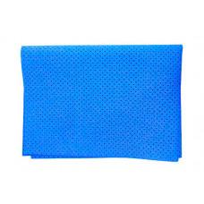 Замша протирочная перфорированная 54*40 плотность 300 синяя