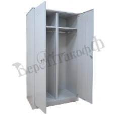 Металлический шкаф для одежды ШМ-22/700