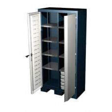 Шкаф для оснастки и инструмента 1950 мм с 8 полками и 5 ящиками Ferrum 08.3058