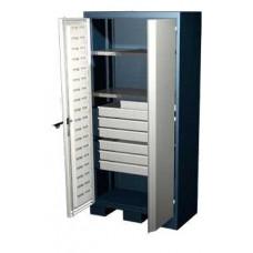Шкаф для оснастки и инструмента 1950 мм с 2 полками и 6 ящиками Ferrum 08.3062