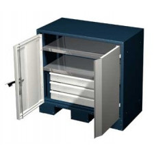 Шкаф для оснастки и инструмента 900 мм с 2 полками и 3 ящиками Ferrum 08.3032(900)