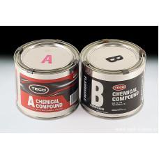 Двухкомпонентный состав для холодной вулканизации (A&B), 455 гр + 455 гр