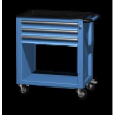 Тележка инструментальная 3 ящика 02.103R Ferrum