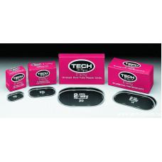 Большая овальная заплата (TECH 2-WAY) для автомобильных камер 150х70 мм